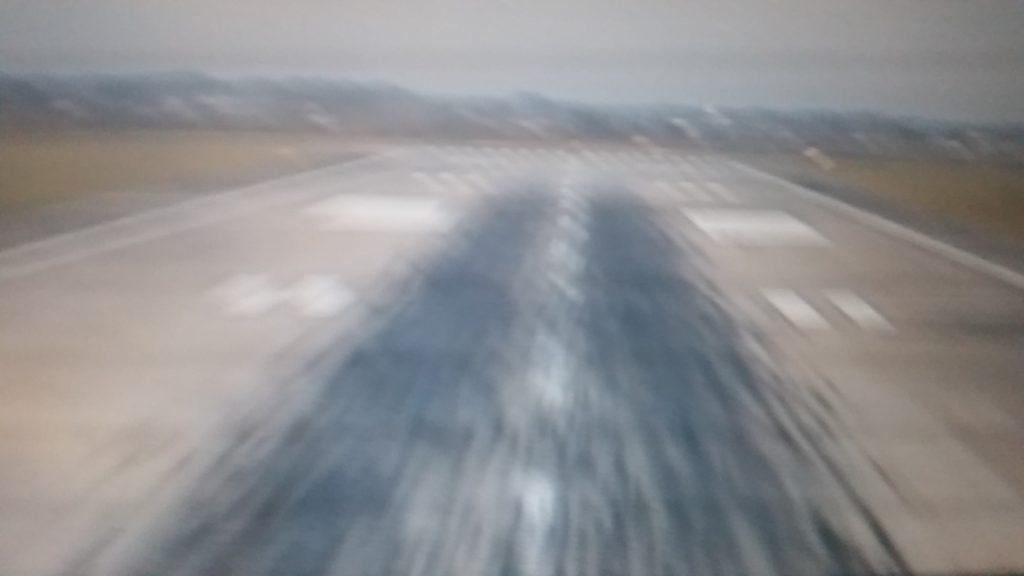 Runway in Frankfurt
