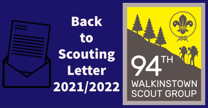 Welcome Back Letter 2021 – 2022
